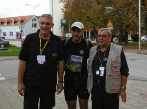 12th Memorial Ultramarathon Zagreb - Vukovar 2013, Boris Ivanovič first in Ivanić-Grad