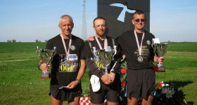 The heroes from 12th Ultramarathon Zagreb – Vukovar 2013 are at their destination